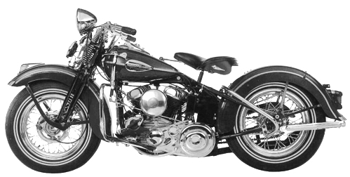 1937 Harley WL 45 sidevalve motorcycles where built until 1952